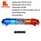 12V police led light bar,traffic warning light